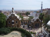 Барселона - парк Гуэль