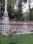 Стена с фонтанами Львы