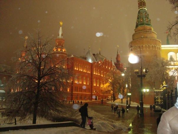 Вид на Красную площадь с Манежной