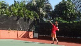 Теннисный корт на территории отеля