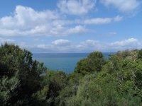 Вид с веранды в Citta' del Mare
