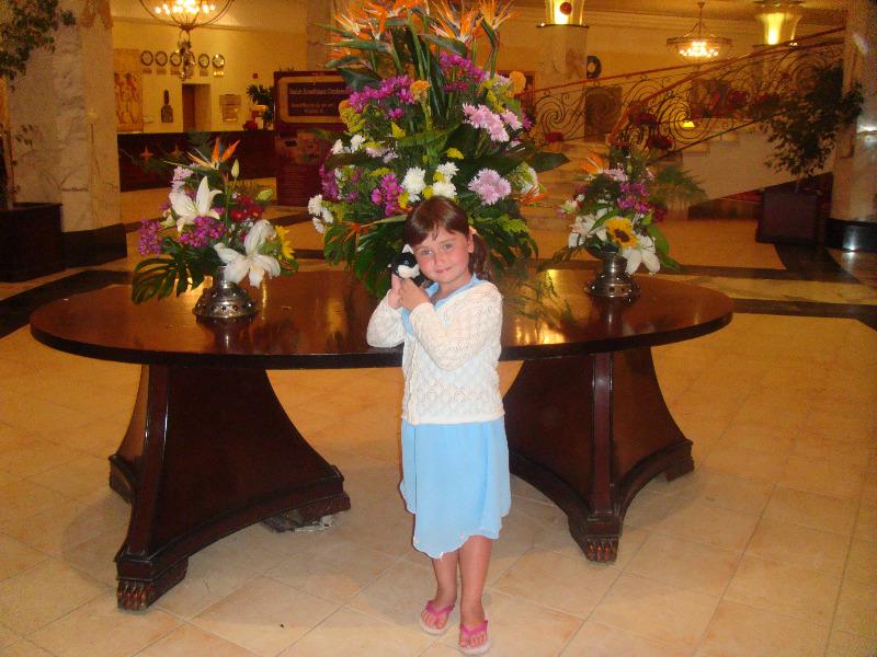 на входе отеля