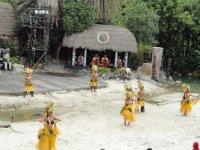 Национальные танцы в Полинезии