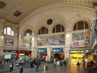Интерьер центрального вокзала