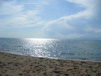 """Один из """"диких"""" пляжей Южного берега"""
