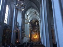 Органная музыка в соборе Святого Августина настолько понравилась, что мы потом ещё туда возвращались