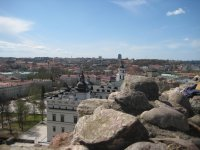 Панорама Вильнюса от башни Гедиминаса
