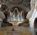 Орган в костеле