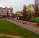 Так выглядит современная часть города, где проживают жители.