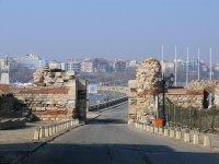 Вид из старого города на новый