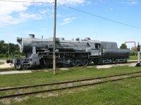 Экспонат железнодорожного музея в Хаапсалу