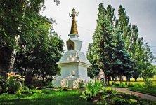 Стела Здоровья, Счастья и Благополучия (Ступа Лонгсал) в Ижевске