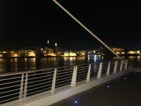 Ночной вид на Валлетту с моста