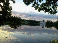 Вечерний Екатерининский парк