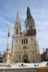 Собор в центре Загреба