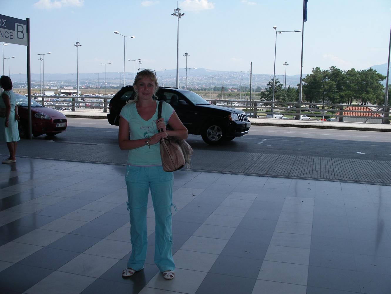 С видом на город со стороны аэропорта