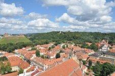 Панорама Старого Города с башни Университета