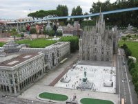"Парк ""Италия в миниатюре""Rimini. Duomo.Милан."