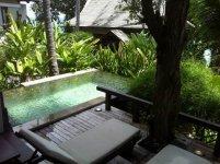 приватный бассейн в pool suite