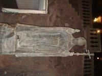Скульптура папы Иоанна Павла II в соляной копальне Велички