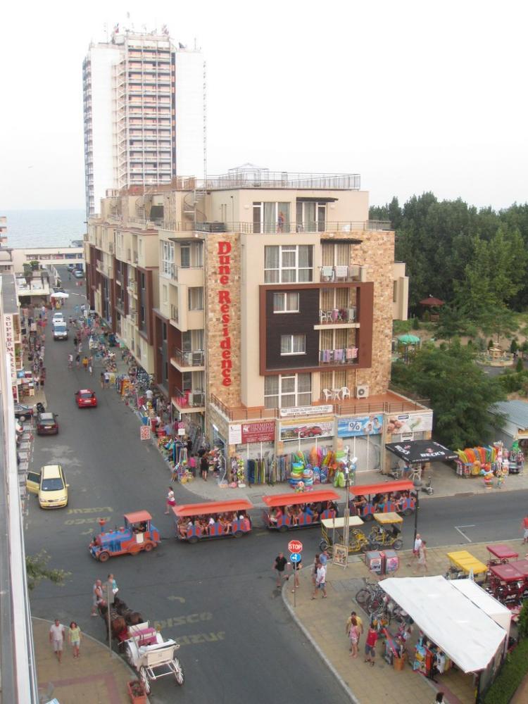 Вид с балкона со стороны улицы