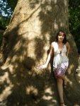 фотка с этим деревом-обязательна в каждое посещение!))
