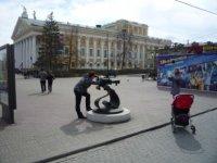 Вид на театр оперы и балета с Кировки.