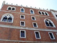 Тыльная стена Дворца Дожей, вид со стороны тюрьмы