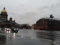 Исаакиевская площадь. Собор и памятник Николаю I