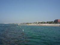 Вид на кумкой с моря