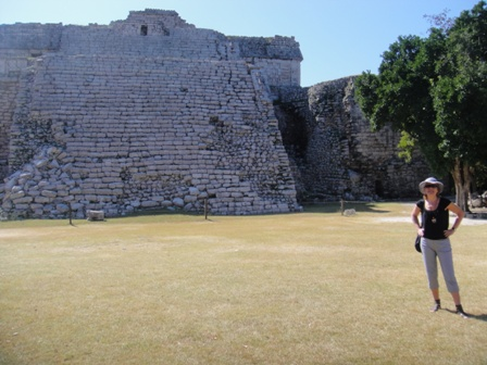 Один из храмов Майа