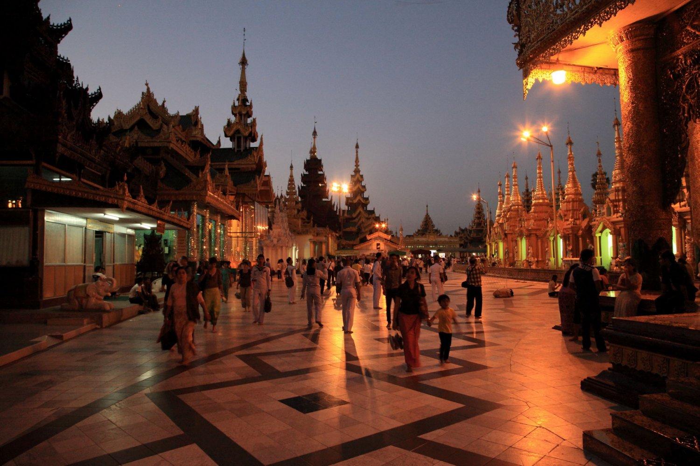 Бирма фото туристов