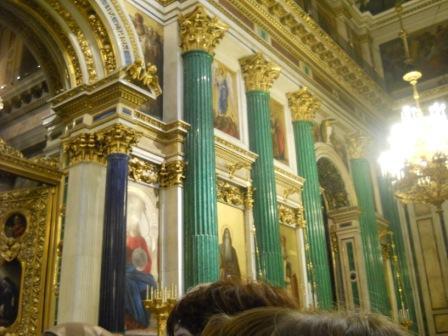 Фрагмент главного иконостаса.