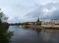 Вид на реку Везер