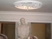 бюст автора панорамы Франца Рубо