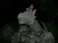 Дракоша в Мисхорском парке