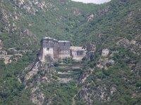 Один из монастырей Афона