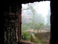 вид из окна кельи