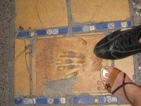 отпечатки знаменитостей около каннского дворца фестивалей