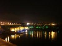 ДнепроГЭС ночью
