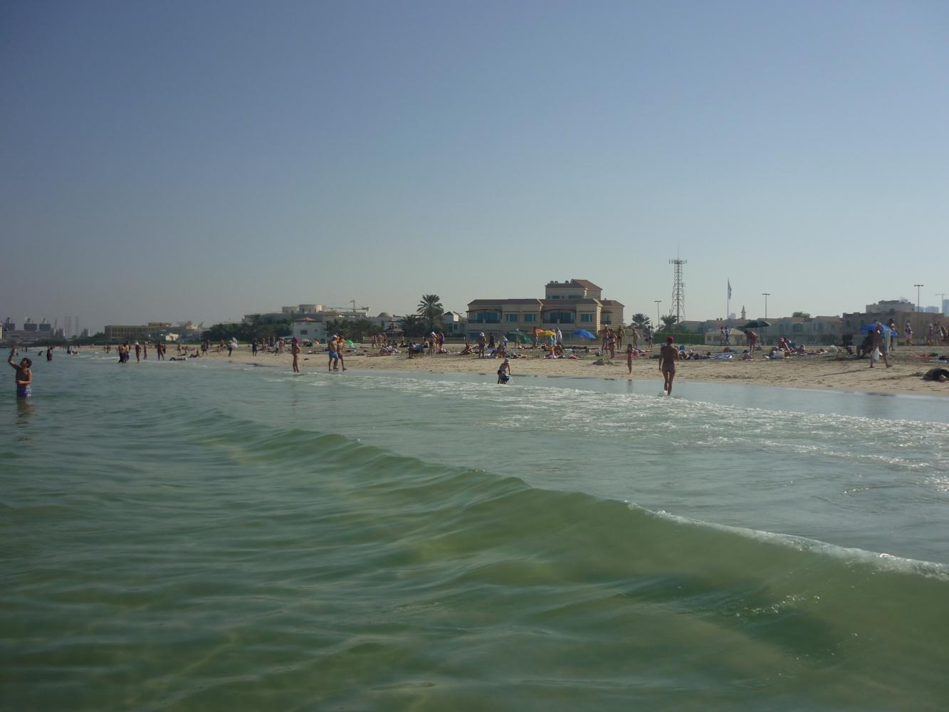 фото пляж эмираты