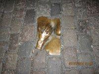 фрагмент тротуара у Старой Церкви