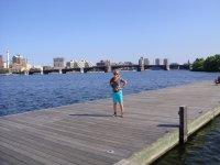 Река  в Бостоне