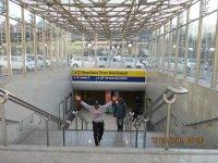 Вход в метро на центральном железнодорожном вокзале