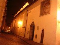 Часы на стене церкви Святого Духа