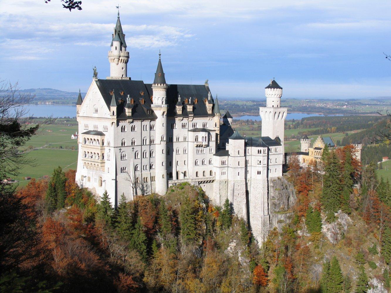 Обои юго-западная, бавария, германия, замок. Города foto 15