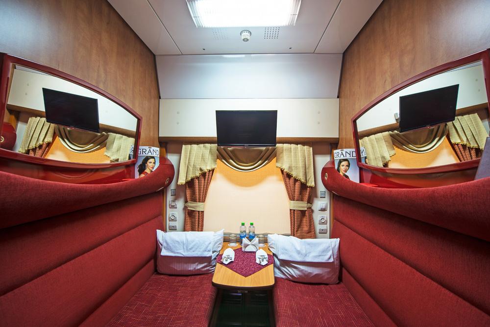Плюсы передвижения на частном поезде Гранд Экспресс