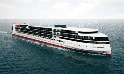 Концепт лайнера с сайта «Мостурфлота»