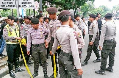 Индонезийская полиция. commons.wikimedia.org. Автор фото Gitoyo aryo