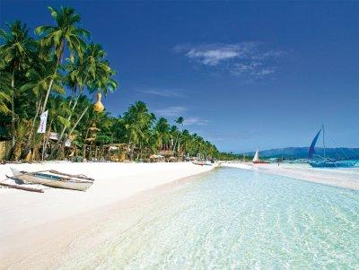 Пляжи Боракая до разразившейся экологической катастрофы